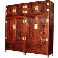 南宁红木书柜,古典红木家具批发