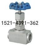 J11W-160P内螺纹针型阀-不锈钢内丝针型阀