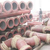 耐磨陶瓷管--疏浚清淤泥沙输送管道