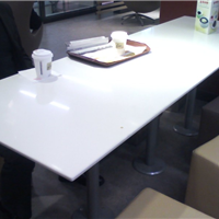 供应人造石餐桌,西餐厅餐桌