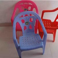 中号加厚塑料儿童靠背椅
