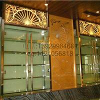 重庆五星级酒店古铜不锈钢屏风装饰价格厂家
