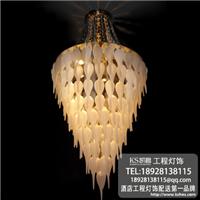凯奢酒店工程灯,异形灯设计,别墅灯饰订制