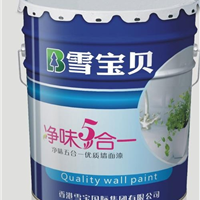 乳胶漆十大品牌―香港雪宝乳胶漆