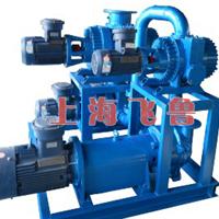 供应干式减压蒸馏用罗茨真空机组