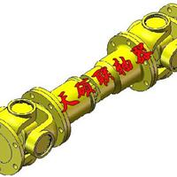 SWC-BF型准伸缩法兰式万向联轴 沧州天硕联轴厂