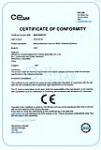 欧盟CE认证证书