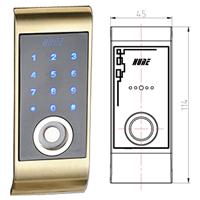 抽屉锁/桑拿锁 19MT01BP(TM卡桑拿柜锁)