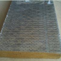 带铝箔岩棉板  带粘贴铝箔的高密度岩棉板