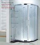 供应卫浴洁具-钢化玻璃6mm-8mm简易淋浴房