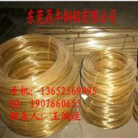 大量供应H90环保黄铜线/C2600黄铜螺丝线