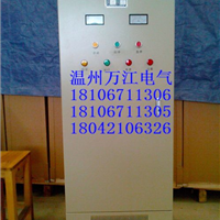 现货22千瓦电机软起动柜,中文汉显软启动器