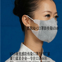 H7N9禽流感 医用口罩 一次性口罩 三层无纺布 50只
