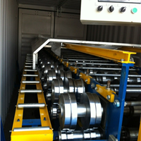 供应专业出租铝镁锰板压瓦机设备
