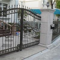 供应武汉铁艺大门|小区大门|别墅花园门