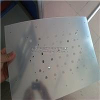 供应亚克力灯具反光板,透明镜片,半透镜