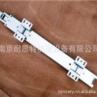 供应NNK橱柜挂蓝三节钢珠道轨(壳焊高脚)