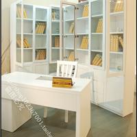 上海纯实木家具厂家直销书柜书桌组合