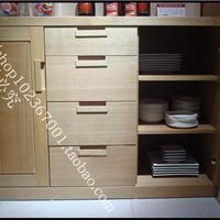 上海纯实木家具北美黑胡桃鞋柜餐边柜酒柜