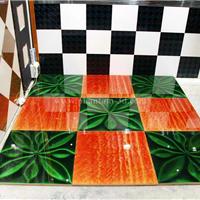 供应室内高级玻璃地砖―立体玻璃
