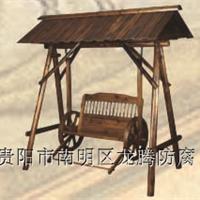 供应贵阳防腐木秋千