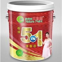 供应建筑环保油漆涂料大自然漆5in1内墙涂料