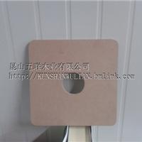 高密度板圆孔加工,纸管包装板保护膜包装板
