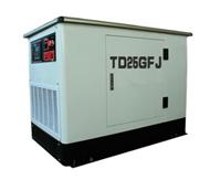 供应静音汽油发电机|25KW燃气发电机组