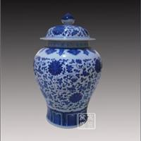 供应将军罐 缠枝莲将军罐 定做陶瓷罐子
