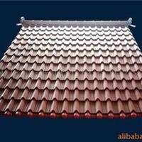 广州臻誉专业生产厂家和供应彩钢仿古琉璃瓦
