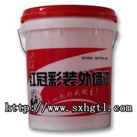 山西外墙乳胶漆招商代理红冠外墙乳胶漆生产