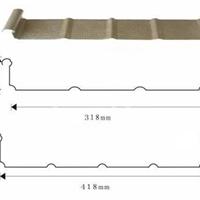 YX65-430直立锁边铝镁锰金属屋面板