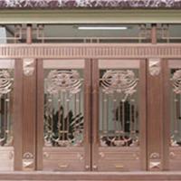 供应甘肃兰州铜门铜艺门质量最好值得信赖