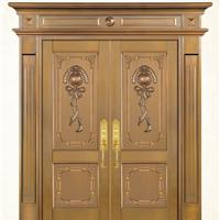 铜星铜艺-别墅铜门
