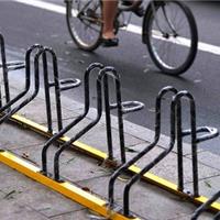 供应卡位式电瓶车停车架,市政自行车停车架