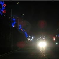 供应路灯杆装饰效果,城市亮化效果图