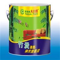 供应精品内墙漆  大自然竹炭清新纳米墙面漆