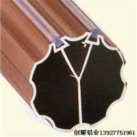 供应窗帘杆铝合金型材