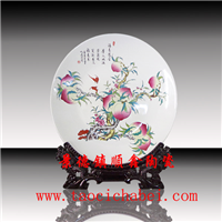 陶瓷纪念盘,毕业典礼纪念盘,馈赠品工艺盘