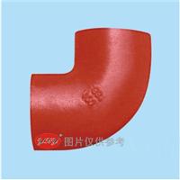 供应W型柔性铸铁管件 90度弯头