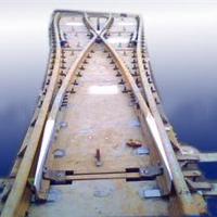 铁路道岔、轻重轨道岔、林州工矿材生产优质道岔