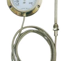 供应压力式温度计/全不锈钢压力式温度计