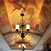 专业供应酒店天顶壁画、会所天顶壁画