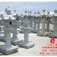 供应仿古石灯,雪见等寺庙中外建筑石雕