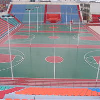 上海塑胶篮球场塑胶网球场幼儿园塑胶操场厂