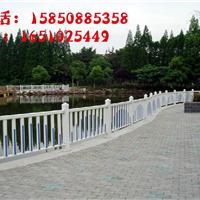天津草坪栏栅 河道安全护栏 花园风景围栏