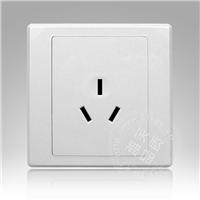 供应特价工程款墙壁开关插座16A三孔插座