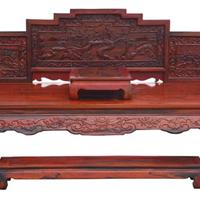 崇左红木床,九曲红木家具供应