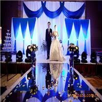 婚庆地毯,PET卷材亮光舞台镜面地毯