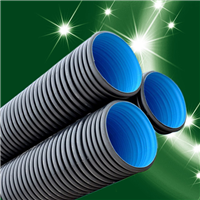 PE双壁波纹管生产厂家/壁厚/规格